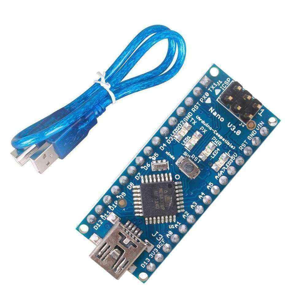 Arduino Nano CH340 + USB Kablo