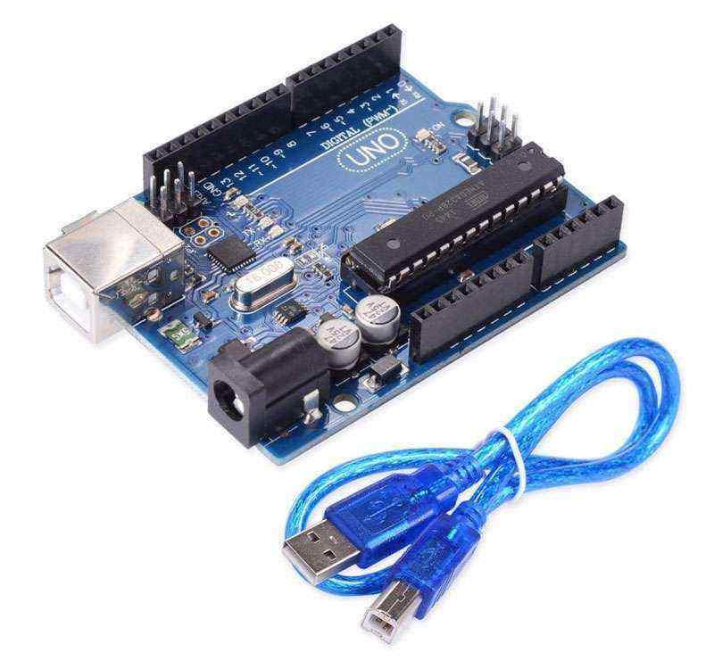 Arduino UNO R3 DIP Klon + USB Kablo