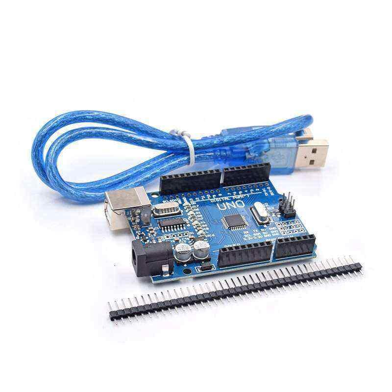 Arduino Uno R3 CH340 + USB Kablo