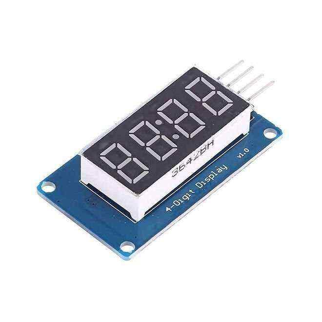 4′lü 7-Segment Display Modülü - TM1637